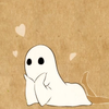 waruvial: a ghost girl daydreaming. from nihon animator nihonichi episode 15. (obake-chan)