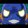 waruvial: croagunk looking frustrated as hell, from pokemon, DP???. (croagunk used frustration)