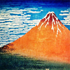 haikitteh: (ukiyo-e hokusai Mountain by turlough)