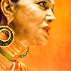 monanotlisa: Profile shot of The Expanse's master politician Chrisjen Avasarala, a regal-looking Indian woman in her 70s (chrisjen avasarala - the expanse)