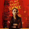 "monanotlisa: Raven Reyes mostly frontal, defiant, crossed arms, in the background the words ""IT'S NOT ROCKET SCIENCE"" (aaamy! - dw)"