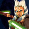 sharpest_asp: Ahsoka Tano with saber (Star Wars: Ahsoka)
