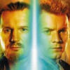 sharpest_asp: Obi and Qui on either side of a saber (Star Wars: Jedi OTP 2)