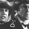 garrideb: Jamie and the second doctor looking upset (Jamie and Two)