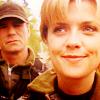 craterdweller: (SG-1: Sam/Jack smiling)
