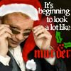 lasergirl: Horatio with a Santa hat on, ready to solve crimes (xmas murder)