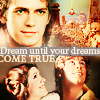 anghraine: top half: anakin c. rots; bottom half: luke and leia c. anh; text: dream until your dreams come true (skywalkers [anakin and leia and luke])