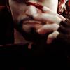 mitsubachi: Garrett Hawke from Dragon Age wiping blood on his nose (Dragon Age 2 - Garrett Hawke - haaaaand)