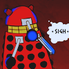 jadesfire: Cartoon dalek [text] sigh (*sigh*)