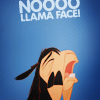 jadesfire: Distraught llama from The Emperors New groove [text] Noooooo (Llama face)