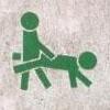 the_shoshanna: stick figures walking wheelbarrow-style. Or having buttsecks. (buttsecks)