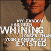 anghraine: picture of luke; text: my fandom has been whining longer than your fandom has existed (luke [whining])