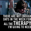 anghraine: luke after his hand gets cut off; text: there are not enough days in the week for all the therapy i'm going to need (luke [therapy])