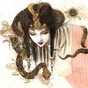 caro: art by Yoshitaka Amano (madame snake)