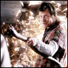 annariel: Danny Quinn from Primeval, with a stick (Primeval:Danny)