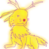 amazing_holly: It's a pokeyman (Christmas_Jolteon)