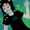 somethinglawful: terezi lying unconscious on the ground (lost in a dream)