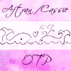 "blue_rampion: Two whales and a love heart: ""Aftran/Cassie OTP"" (Aftran/Cassie OTP)"