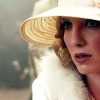 thatyourefuse: Close-up of Grace Burgess from Peaky Blinders with a figure slumped in the out-of-focus background. ([pb] all the secret things)