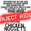 resmiranda: quote by Tracy Jordan on 30 Rock, white dudes be injecting aids into our chicken nuggets (truth bomb)