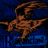 flourish: The Ravenclaw crest. (HP ravenclaw)