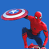 civilwarspidey: (Superhero landing)