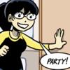 dramahurricane: (party!)
