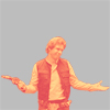 sohotrightnow: Han Solo, shrugging and smiling ([sw] ¯\_(ツ)_/¯)