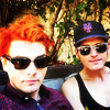 turlough: Gerard & Mikey Way, July 2014 ((mcr) ways)