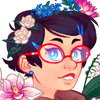 cyan_maid: (Flower crowns)
