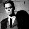 sharpest_asp: B&W pic of Sigourney Weaver in drag (Actress: Sigourney Weaver)
