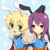 kei_mai: (Flynn/Yuri - bunny ears!)