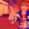 notzubats: Sora confident (my point is your face)