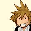 notzubats: Sora mad like a little dog (grrrrr)