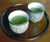kindkit: Two cups of green tea. (Fandomless: Green tea)