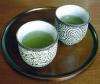 kindkit: Two cups of green tea. (Fandomless: Green tea)