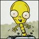 ninetydegrees: Drawing: cute C-3PO in java stew (drowning)