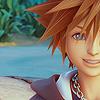 notzubats: Sora smiling (smile)