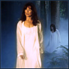 trialia: Battlestar Galactica, Laura Roslin in her nightgown in the woods. (battlestar galactica] laura - sleepwalke)
