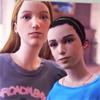 helladoomed: (Young Chloe - BFFs)