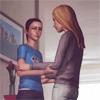 helladoomed: (Young Chloe - Hug!)