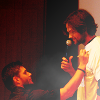 samantha: Jared and Jensen at Aussie con 2009 (J2)