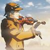 greatestdefective: (Cutscene violin play)