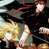 kurofai: (battle couple)