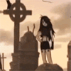 garbagechild: which gravestone should i pose dramatically next to (hi yes im here for the goth photoshoot)