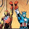 navaan: (Marvel Steve/Tony balcony posing)