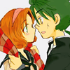 coffeerocket: (Fuu & Ferio ; It's getting cold out)