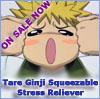 umechan: (Ginji squeeze-toy!)