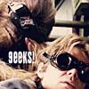 lightpoint: Han and Chewie being geeks (Geeks!)