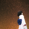 gramarye1971: Ryougi Shiki, against the snow (KnK: Shiki in snow)